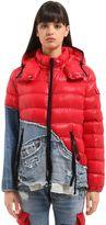 Moncler Greg Lauren Collide Bady Jacket W/ Denim
