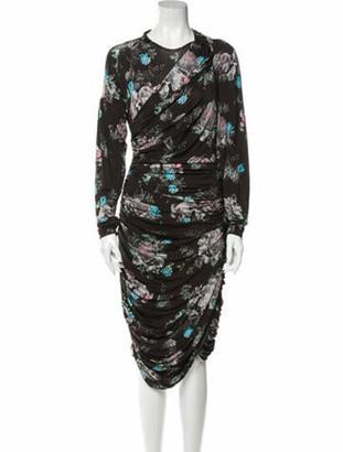 Preen by Thornton Bregazzi 2019 Knee-Length Dress Black