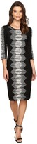 Christin Michaels Mahlia Midi Bodycon Sweater Dress