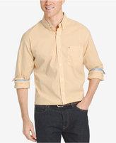Izod Men's Gingham Long-Sleeve Shirt
