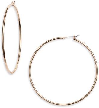Halogen Classic Metal Hoop Earrings