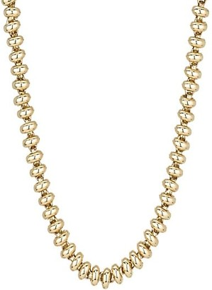 Adina Reyter Heavy Metal 14K Yellow Gold Ball-Chain Necklace