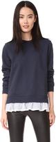 Clu Too Ruffle Bottom Sweatshirt