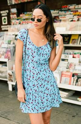 BB Dakota La Femme Floral Mini Dress