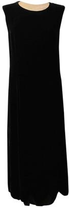 Comme des Garcons Black Velvet Dresses
