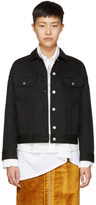 Acne Studios Black Denim Lamp Jacket