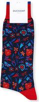 Duchamp Floral Cotton-blend Socks
