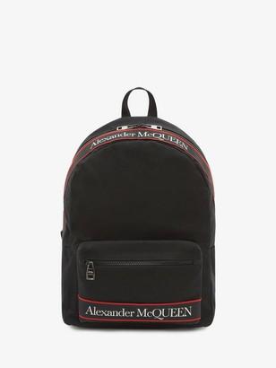 Alexander McQueen Metropolitan Selvedge Backpack