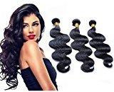 Cara Hair Brazilian Virgin Hair Body Wave Hair Extensions Human Hair Weaves 3Pcs Lot Natural Color 8inch