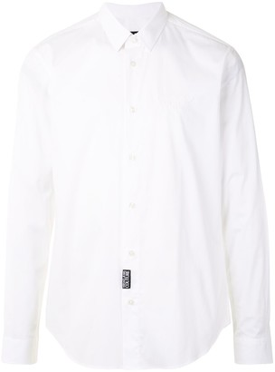 Versace Jeans Couture Logo-Patch Dress Shirt