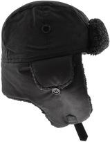 Barbour Fleece Lined Trapper Hat Black