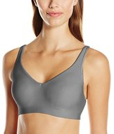 Hanes Women's Ultimate Smooth Inside and Out Unlined Wirefree, Divine Grey, Small