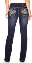 LOVE INDIGO Love Indigo Embellished-Back-Pocket Jeans