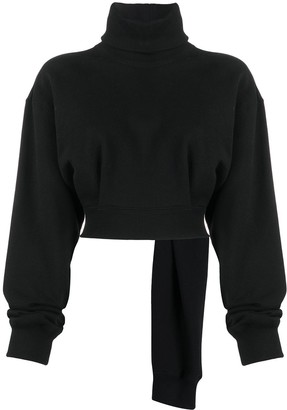Opening Ceremony Cropped Roll-Neck Jumper