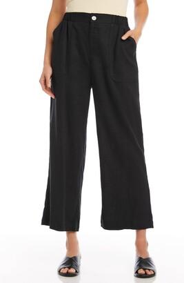 Karen Kane Crop Wide Leg Pants