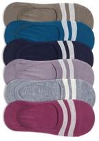 Sof Sole Women's Varsity Stripe No-Show Socks