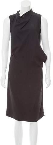 Calvin Klein Collection Sleeveless Draped Dress w/ Tags