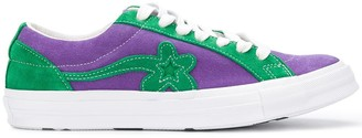 Converse Floral Embellished Sneakers