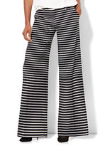 New York & Co. Palazzo Pant - Stripe