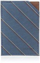 Tommy Hilfiger Men's School Boy-Stripe Split Card Case