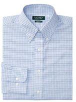 Lauren Ralph Lauren Classic-Fit Checked Poplin Dress Shirt