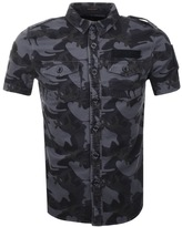 Superdry SD Army Corps Shirt Black