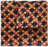 Simeone Napoli pattern print pocket square