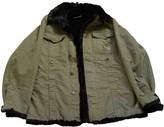 Philipp Plein Green Rabbit Jacket for Women