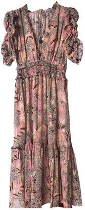 Ulla Johnson Pink Silk Dresses
