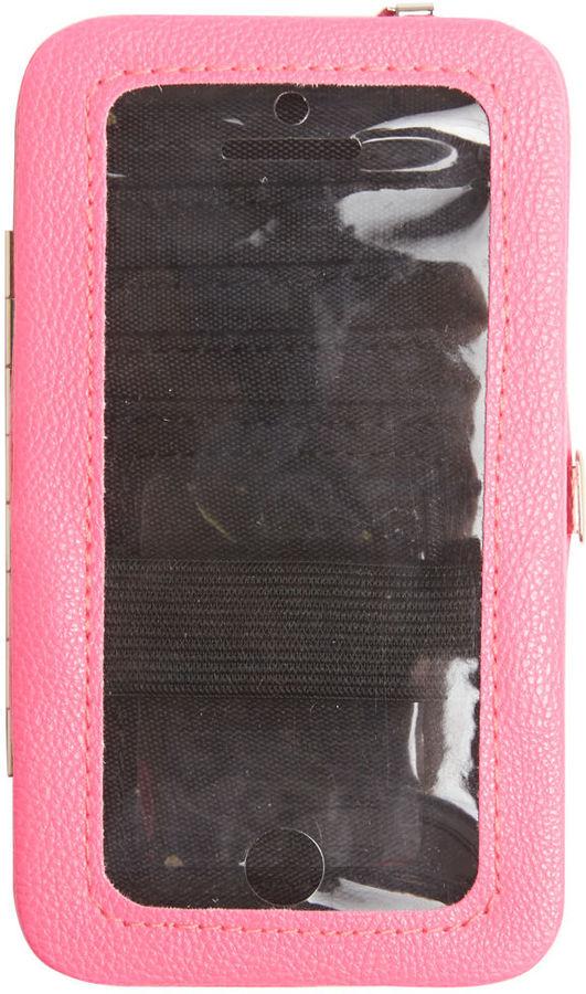 Wet Seal Studded Neon iPhone 5 Wallet
