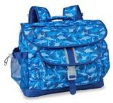 Bixbee Boy's 'Medium Shark Camo' Water Resistant Backpack - Blue