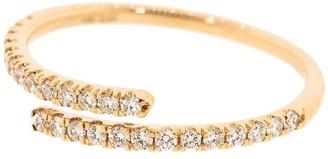 Dana Rebecca Designs 14kt rose gold Lauren Joy Bypass diamond ring