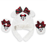 Disney Minnie Mouse Holiday Hat and Mitten Set for Baby