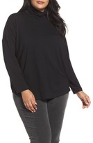 Eileen Fisher Plus Size Women's Turtleneck Tunic