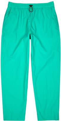 Kenzo Turquoise cotton sweatpants