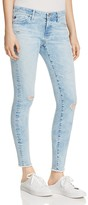 AG Jeans Acid Wash Denim Leggings in Charming