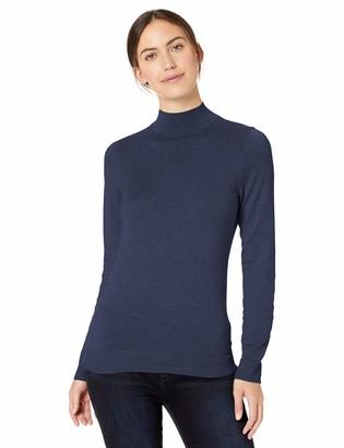 Amazon Essentials Lightweight Mockneck Sweater Black