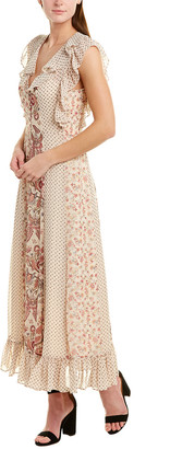 BCBGMAXAZRIA Ruffle Maxi Dress