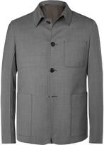 Prada Slim-Fit Wool-Sharkskin Jacket