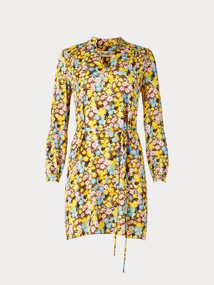 Diane von Furstenberg Glenda Crepe Shirt Dress
