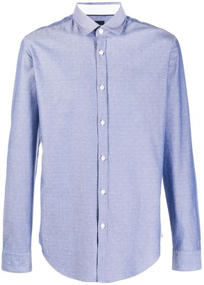 BOSS Long Sleeve Chambray Shirt