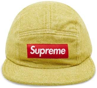 Supreme glitter terry camp cap
