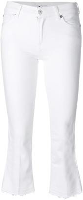 7 For All Mankind Crop Flare Jeans