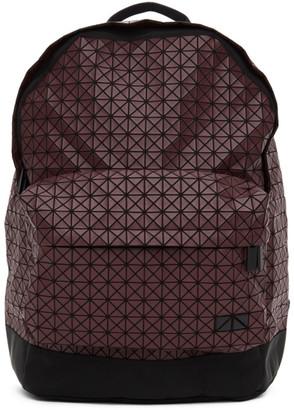 Bao Bao Issey Miyake Burgundy Daypack Backpack