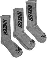 Nike Sb Crew Socks 3-Pack (Mens 8-12)