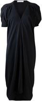 Jean Paul Gaultier Knott crepe shift dress