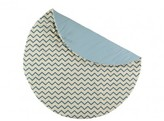 Nobodinoz Cotton Playmat - Zig Zag Pattern