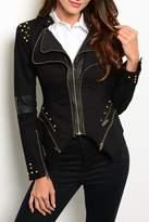 Ark & Co Black Spikes Jacket