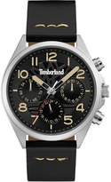 Timberland 'Bartlett Ii' Multifunction Leather Strap Watch, 48Mm