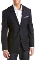Original Penguin Slim Fit Wool-blend Blazer.